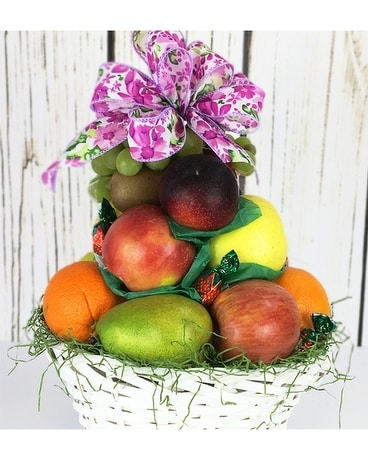 Fresh Market of Fruit Flower Arrangement