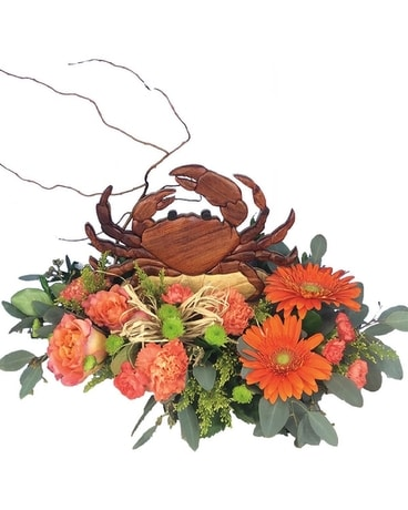 Gone Crabbin' Flower Arrangement