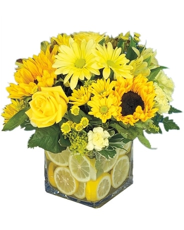 Summer Blonde Flower Arrangement