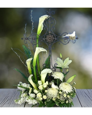 At Heaven's Gates Flower Arrangement