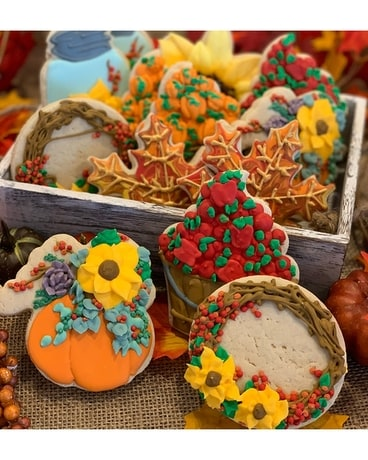 12 Autumn Sugar Cookies