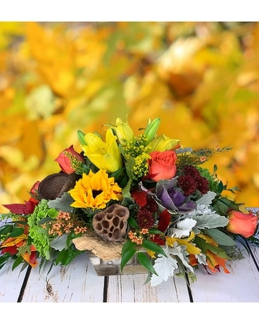 Bountiful Harvest Flower Arrangement