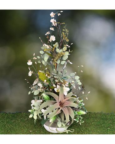 Silken Fairy-tale Flower Arrangement