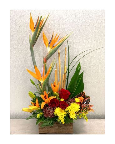 Autumn Paradise Flower Arrangement