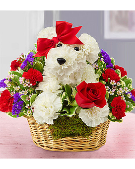 LOVE PUP BY 1800FLOWERS