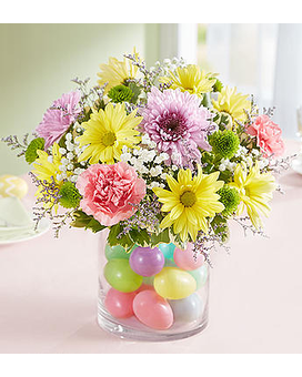 Easter Egg-Stravaganza Flower Arrangement