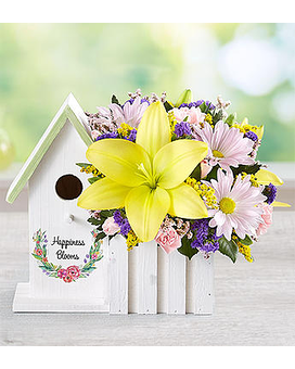 Happiness Blooms by 1800flowers Flower Arrangement