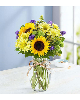Fields of Europe Summer Flower Arrangement