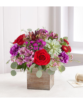 Radiant Jewel by 1800flowers Flower Arrangement