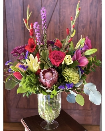 Gordon Hill's vintage love Flower Arrangement