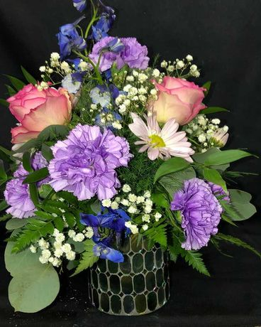 Marvelous Mosaic Flower Arrangement