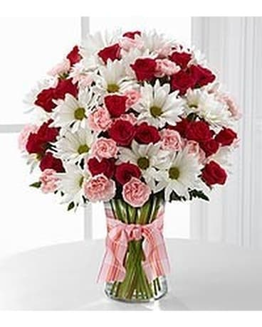 Sweet surprises vase arrangement Flower Arrangement