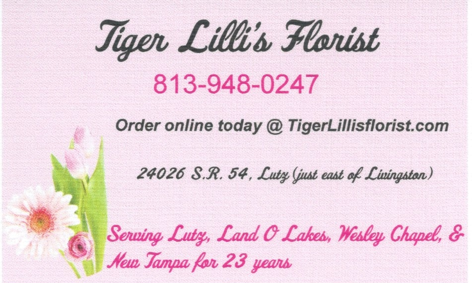 Lutz Florist Flower Delivery By Tiger Lilli S Florist