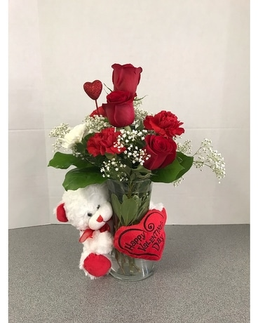 Teddy Bear Love Bouquet