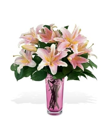 Teleflora's Grand Lily Bouquet by Galway Flower Arrangement