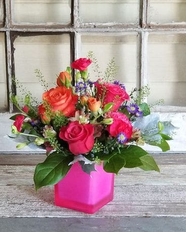 Pink Party Flower Arrangement
