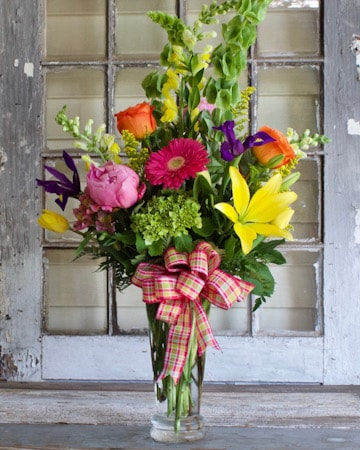 Spring Morning Flower Arrangement