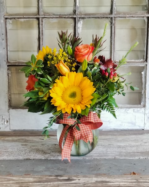 Golden Times Flower Arrangement