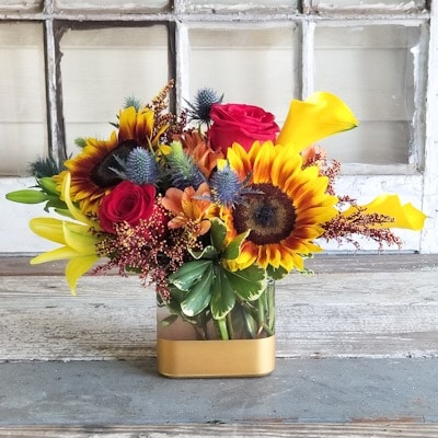 Summer Harvest Flower Arrangement