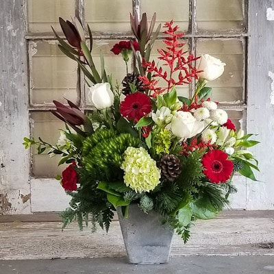 Yuletide Charm Flower Arrangement