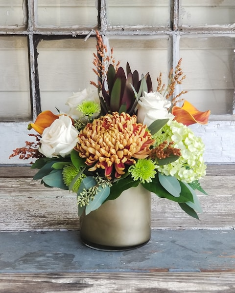 Golden Days Flower Arrangement