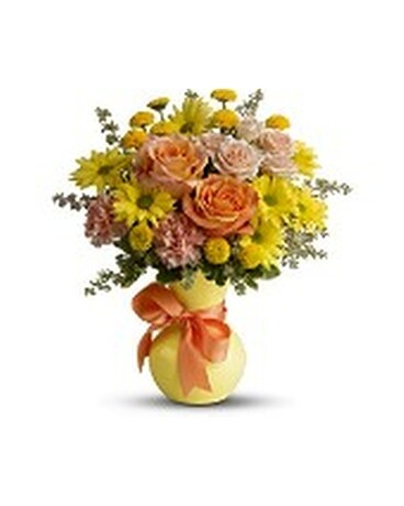 Teleflora's Heart Warmer Flower Arrangement
