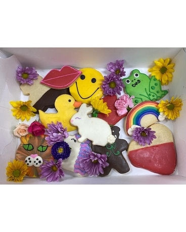 Flower Cookie Box Custom product