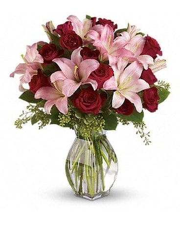 View Larger  Lavish Love Bouquet with Long Stemme Flower Arrangement
