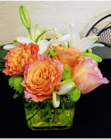 Orange Dreams Flower Arrangement