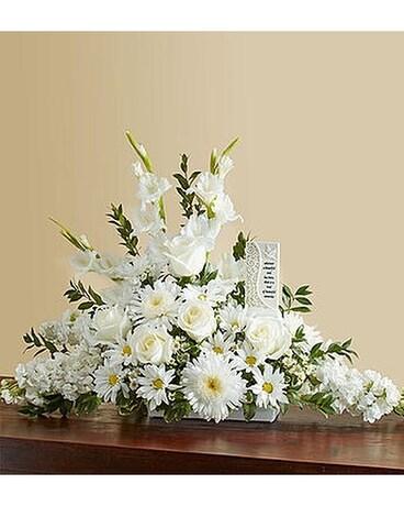 Beautiful memories all white in alameda ca central florist beautiful memories all white flower arrangement mightylinksfo