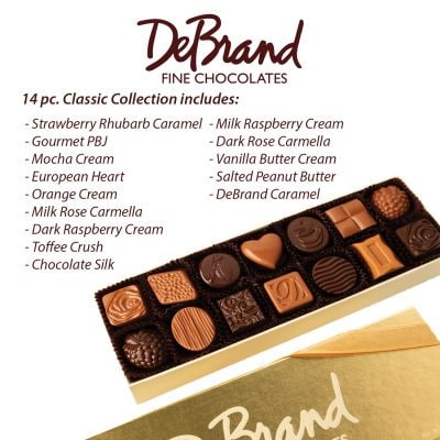 DeBrand Large Chocolate