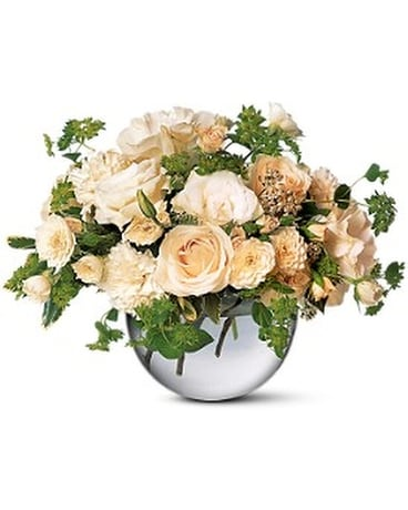 Simply White Flower Arrangement