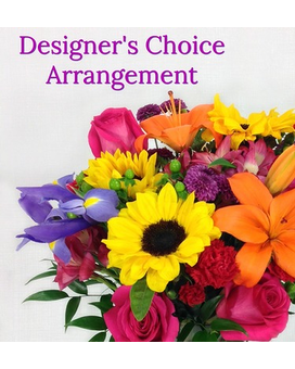 Designers Choice Arrangement Flower Arrangement