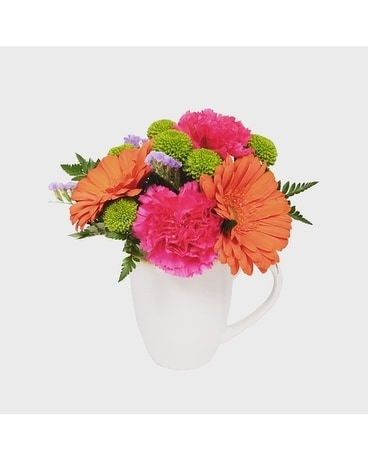 MUG OF FLOWERS Flower Arrangement
