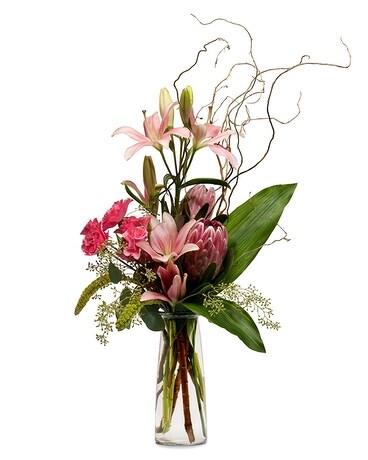 Port Jefferson - Port Jefferson Artsy Flower Arrangement
