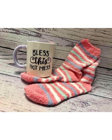 Sock Cup Hot mess Gifts