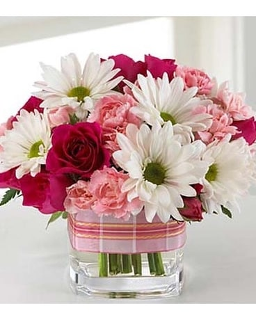Cute As A Button Flower Arrangement