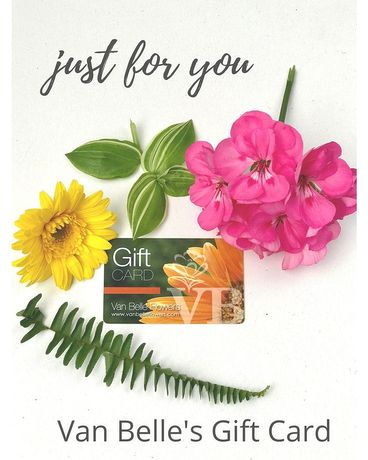 VB Gift Card - All Denominations Flower Arrangement