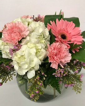 Exquisite Pink Floral Arrangement Flower Arrangement