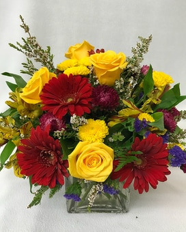 Autumn Blaze Arrangement Flower Arrangement