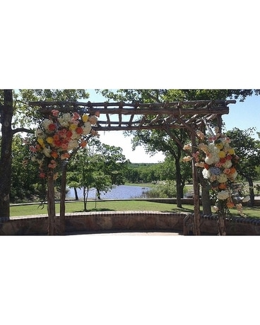 Arch Arrangement Flower Arrangement