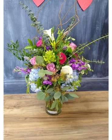 Rock Your World Flower Arrangement