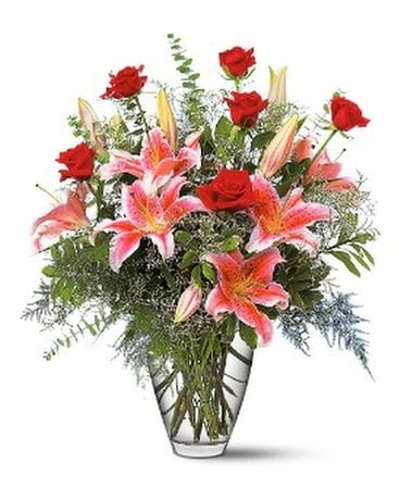 Celebrations Bouquet - by Kutchey's Flowers in Key Flower Arrangement
