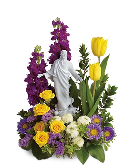 Teleflora's Sacred Grace Bouquet Flower Arrangement