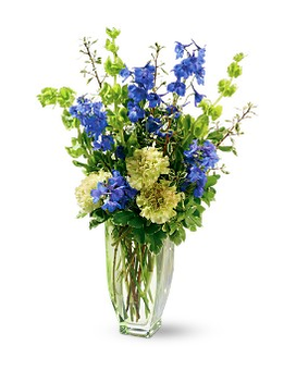 Teleflora's Emerald Isle Bouquet Flower Arrangement