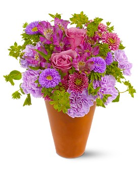 Roman Garden Flower Arrangement