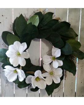 magnolia wreath Flower Arrangement