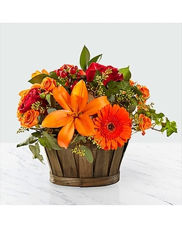 harvest memories basket Flower Arrangement