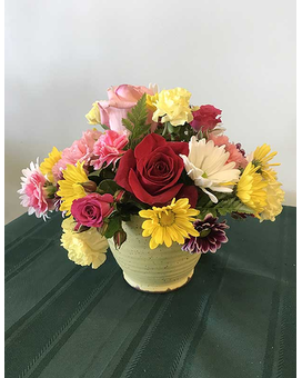 Bright & Cheery Arrangement Flower Arrangement