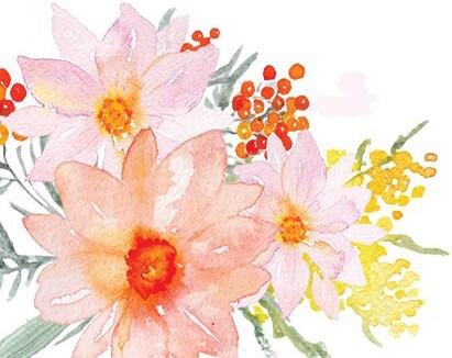 Elegant Design Floral Art